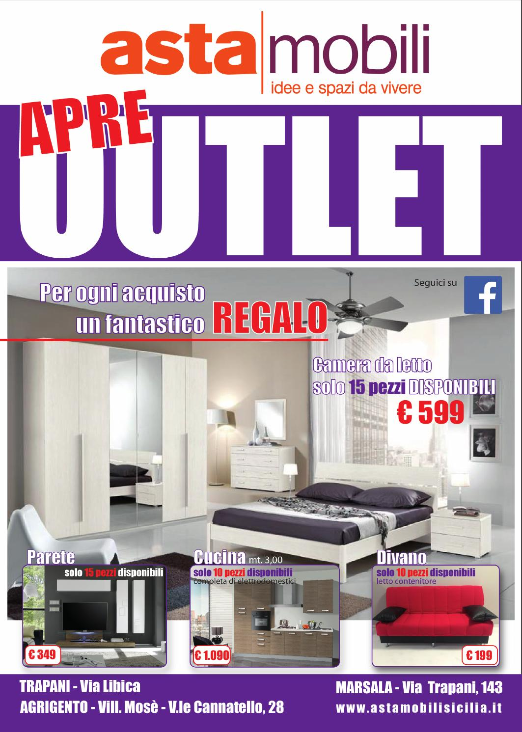 Apre asta mobili outlet by asta mobili sicilia issuu for Web mobili outlet