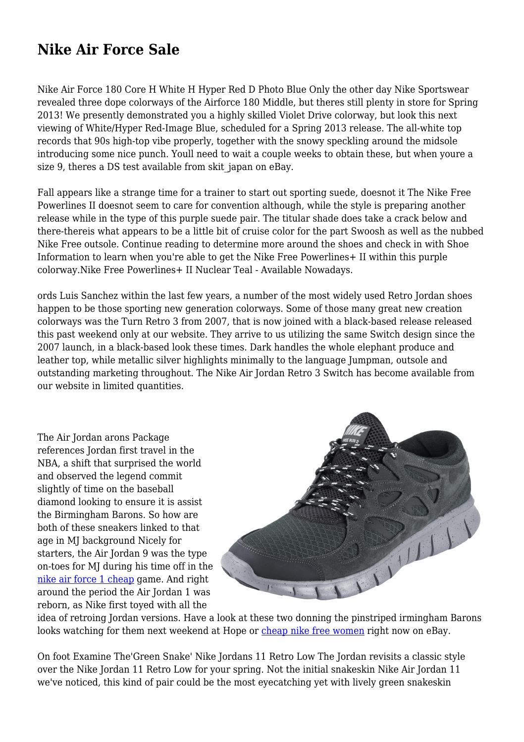 944a8e2666b Nike Air Force Sale by tanlexicon7779 - issuu