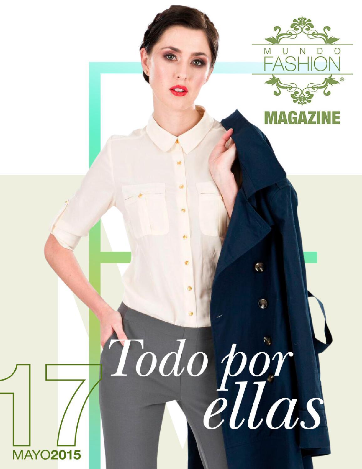 2f0e57fe3 Mundo Fashion 17 - Mayo 2015 by Mundo Fashion - issuu