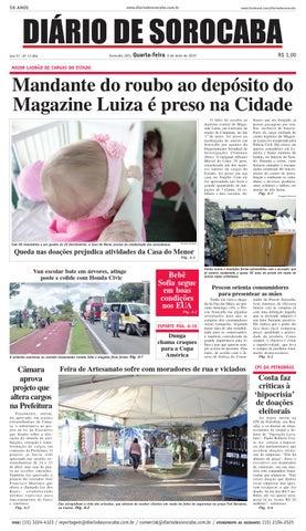Edição de 6 de maio de 2015 by DIÁRIO DE SOROCABA - issuu af72ed1cdc668