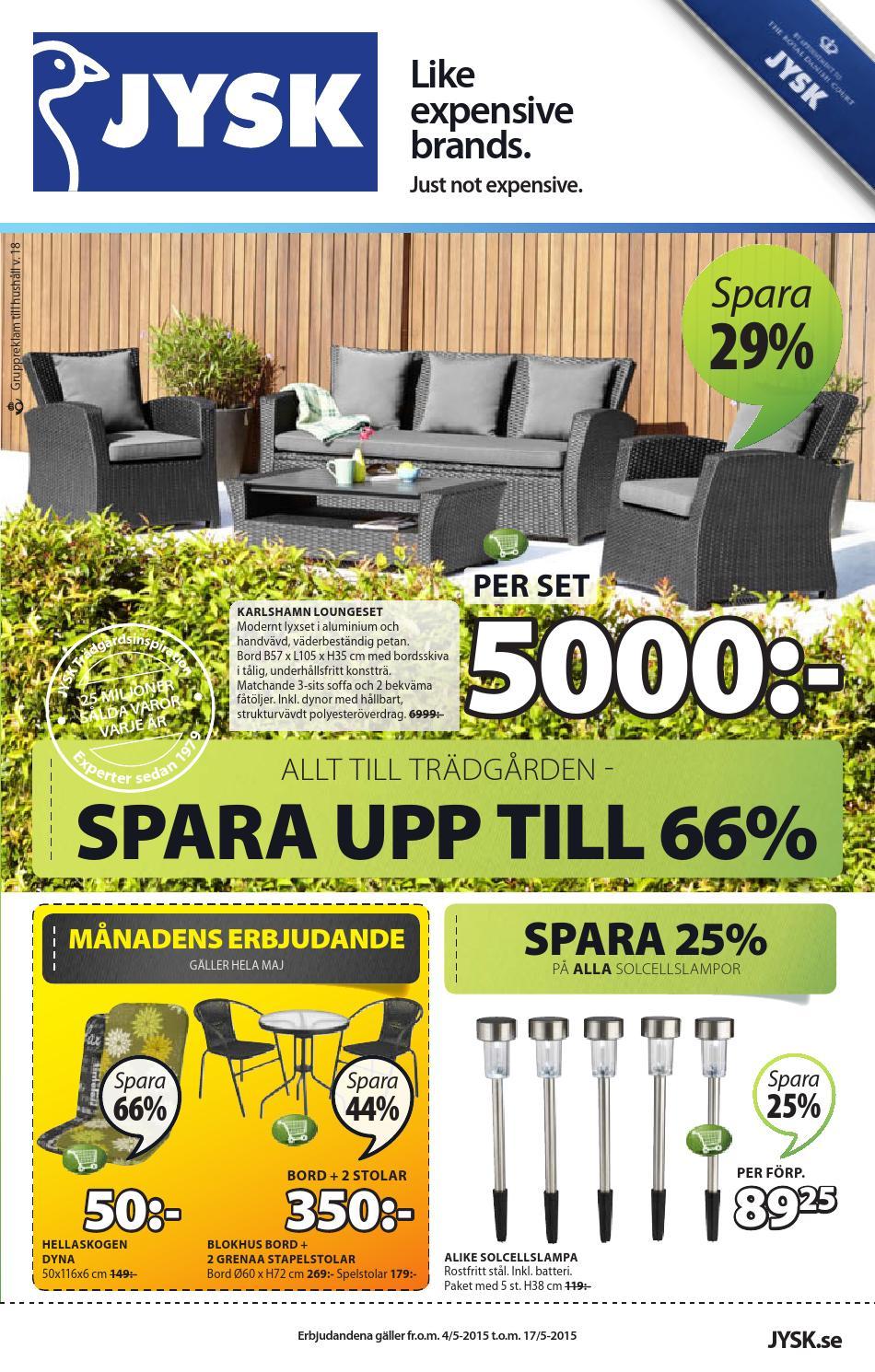 Nykomna Jysk sverige garden furniturepdf by masura - issuu ZF-45