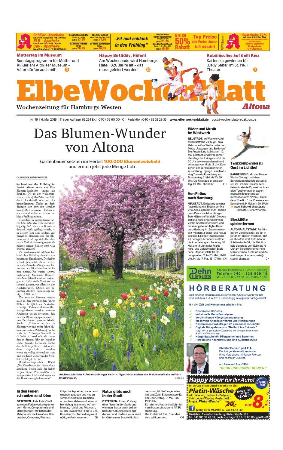 Altona KW19-2015 by Elbe Wochenblatt Verlagsgesellschaft mbH & Co.KG - issuu