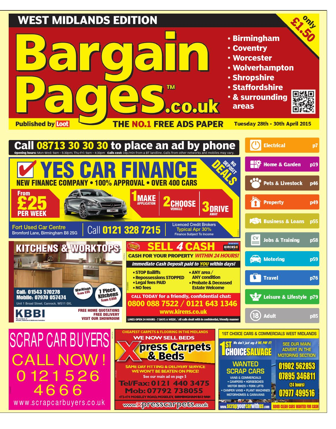 Bargain Pages West Midlands April 28th 2015 By Loot Issuu Female To Rj45 Adapter Diy Serial Cable End 9 10 2016 91500 Pm