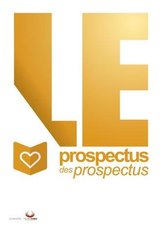 Le Prospectus Des Prospectus à 25 Kms De Nantes By Team Agu