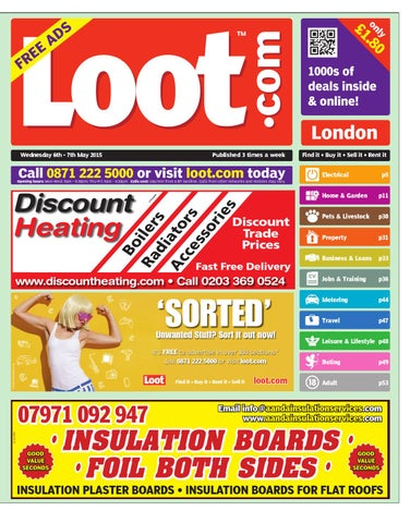 Loot London 6th May 2015 by Loot - issuu dd9a7a7cb6
