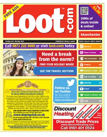 01dfc5d77c Loot Manchester 3rd May 2015 by Loot - issuu
