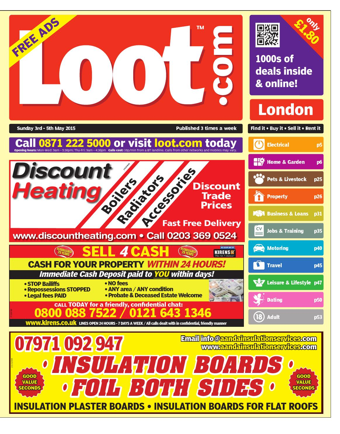 370556d86b421f Loot London 3rd May 2015 by Loot - issuu