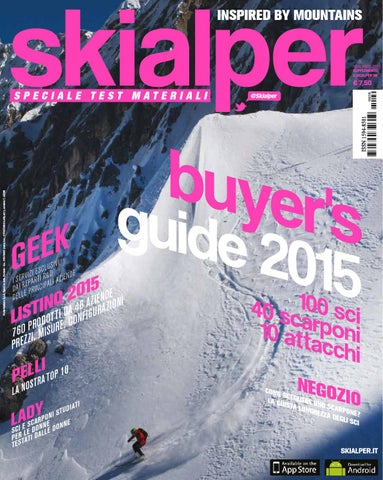 Buyer s Guide 2015 - Skialper by Mulatero Editore - issuu 2e9ebb6fa26