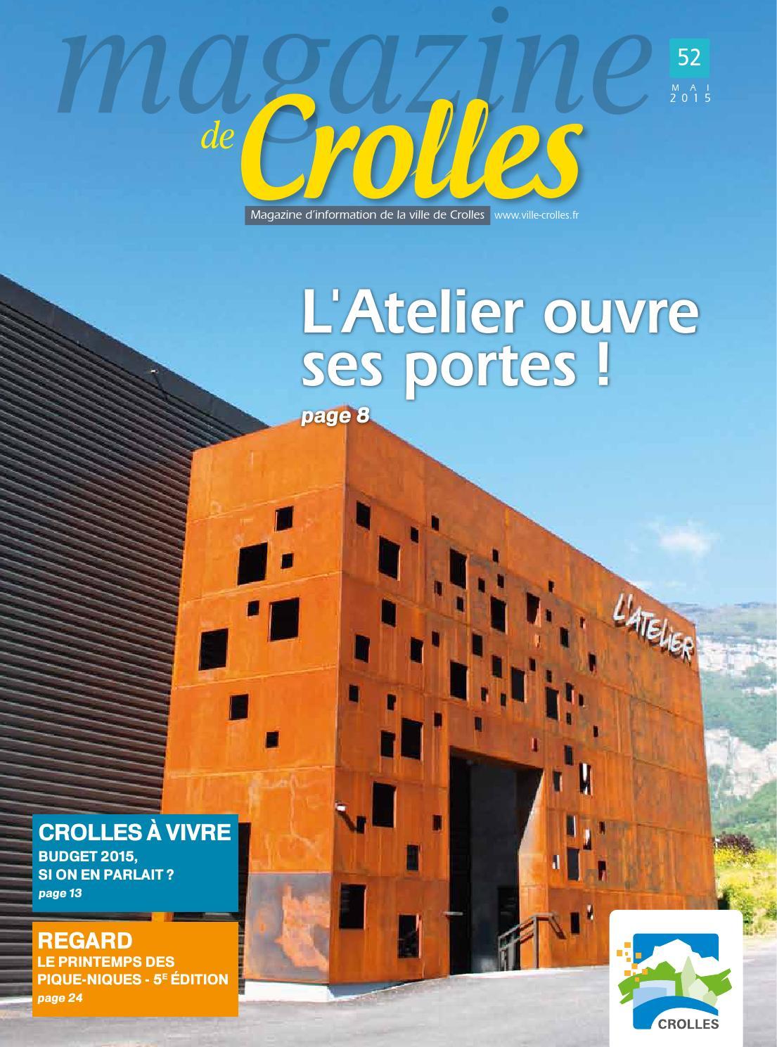 Mai 2015 crolles magazine by ville de crolles for Piscine de crolles