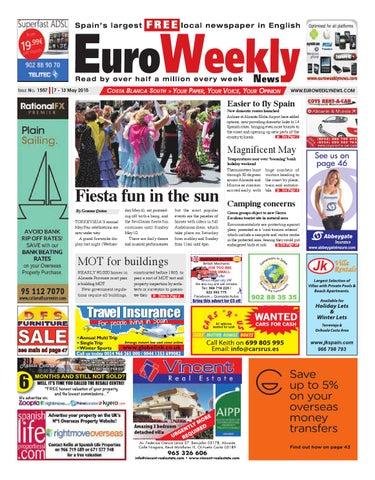 Euro Weekly News Costa Blanca South 7 May 13 May 2015