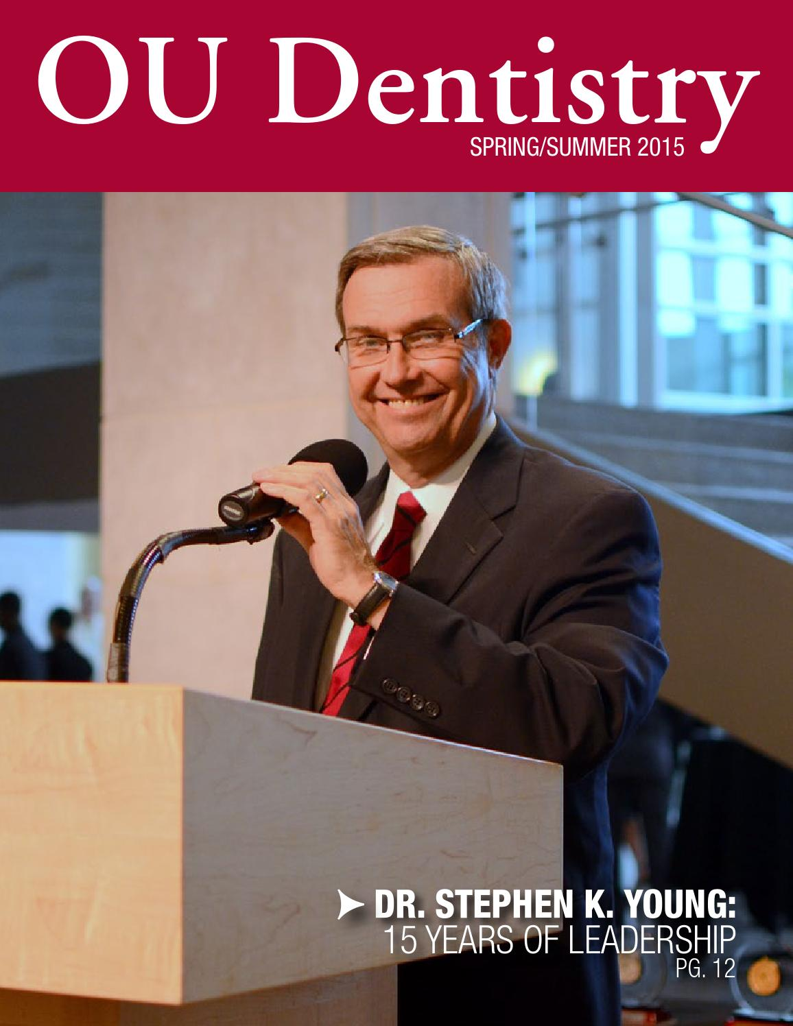 ou dentistry spring 2015 by ou dentistry issuu