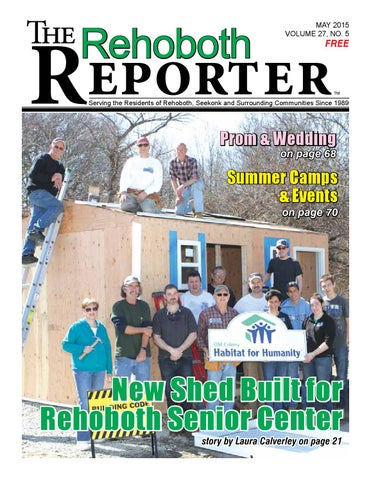 huge discount 53a26 641b8 May 2015 Rehoboth Reporter by Dick Georgia - issuu