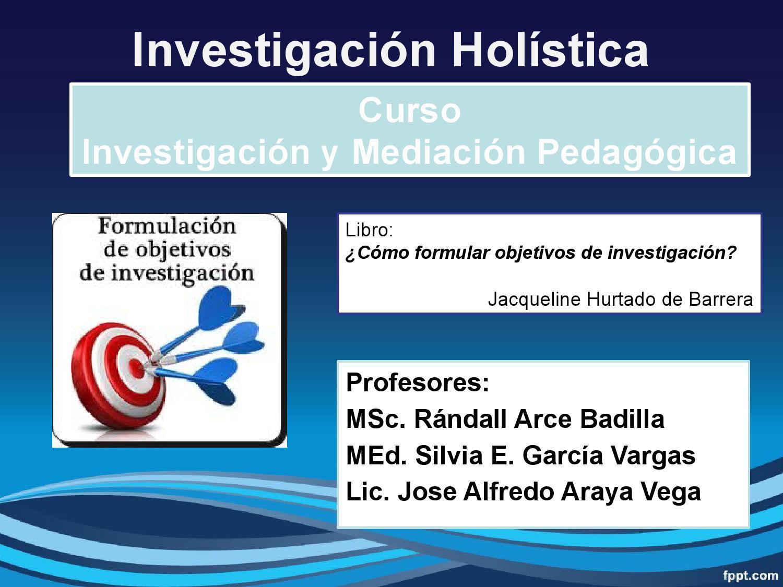 Cómo Formular Objetivos De Investigación By García Vargas Issuu