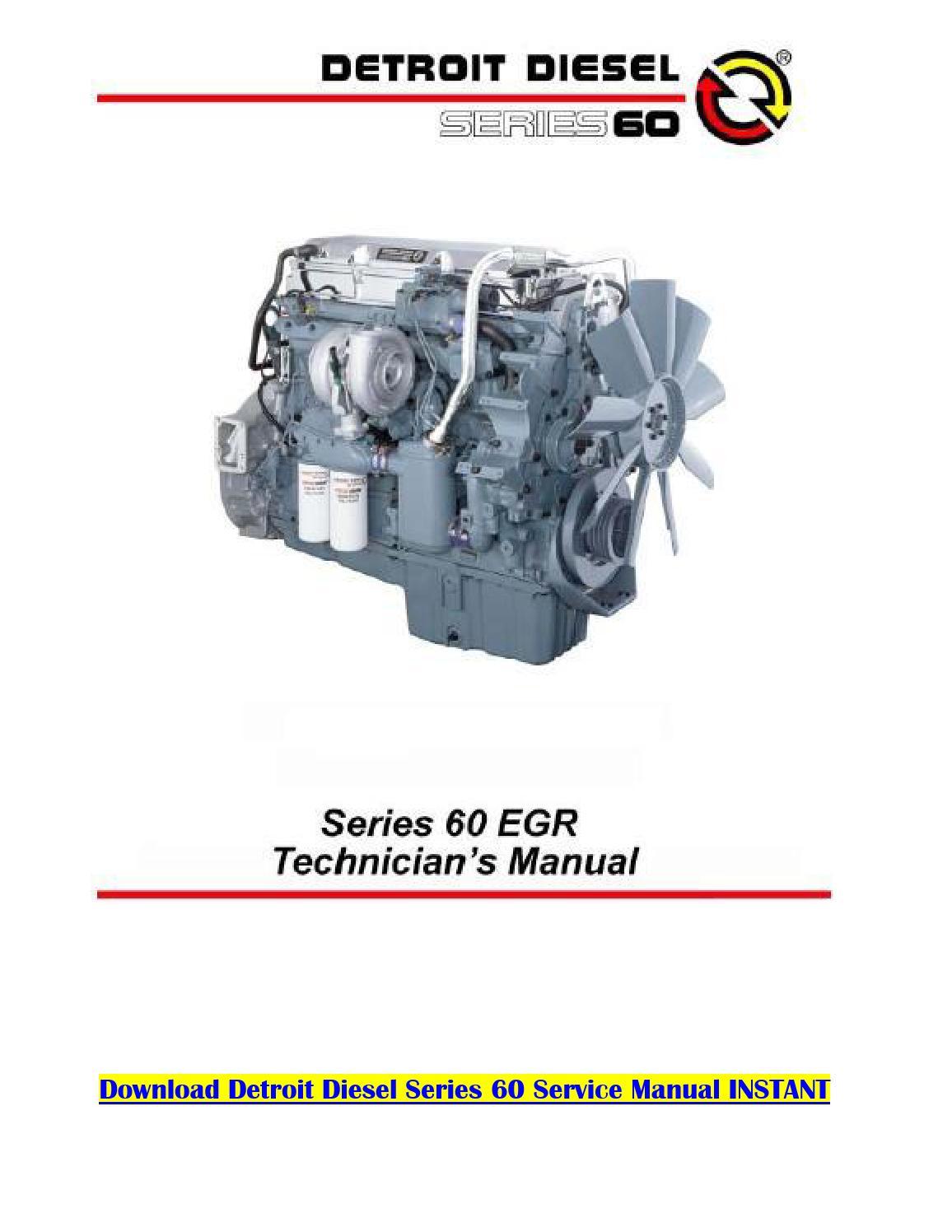 Detroit Diesel Series 50 Wiring Diagram