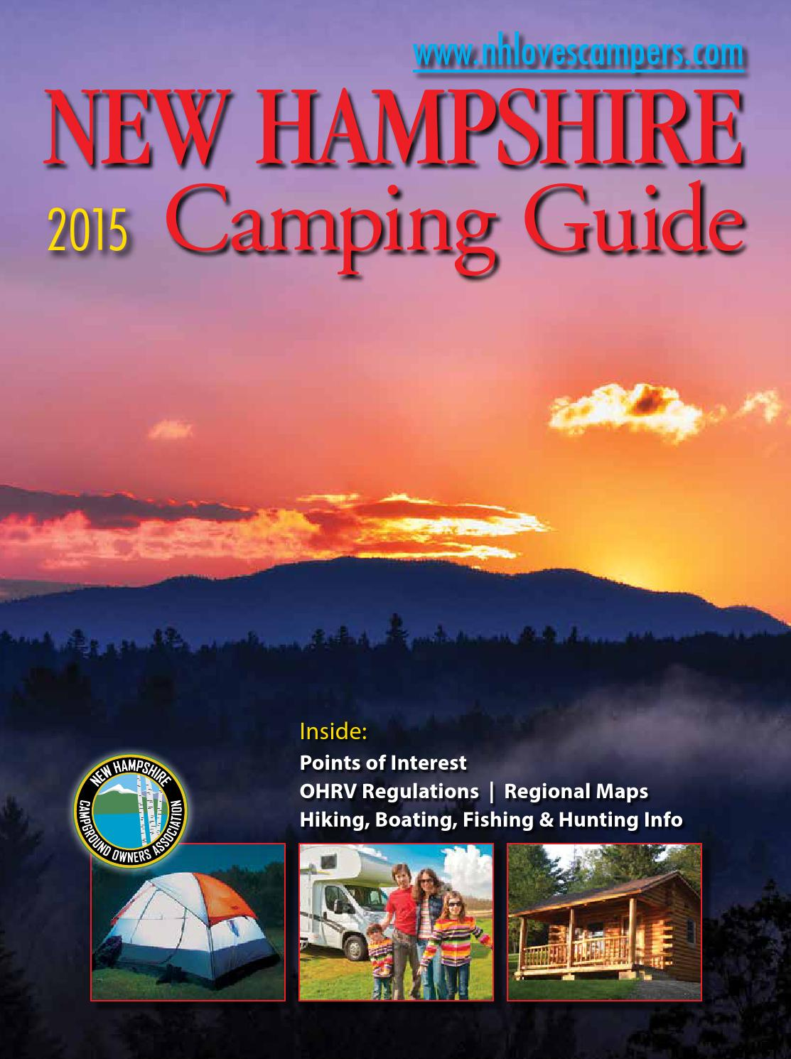 Cottages amp campground rentals riverview cottages campground jackman - 2015guidelinks150505 By New Hampshire Campground Owners Association Issuu