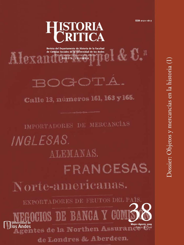 Historia Crítica No. 38 by Publicaciones Faciso - issuu 49d90a52fc7