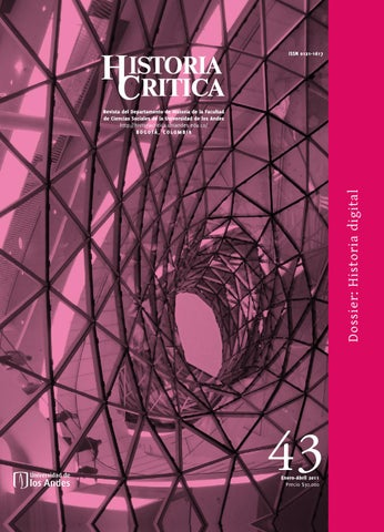 Historia Crítica No. 43 by Publicaciones Faciso - issuu 9389678cbbf