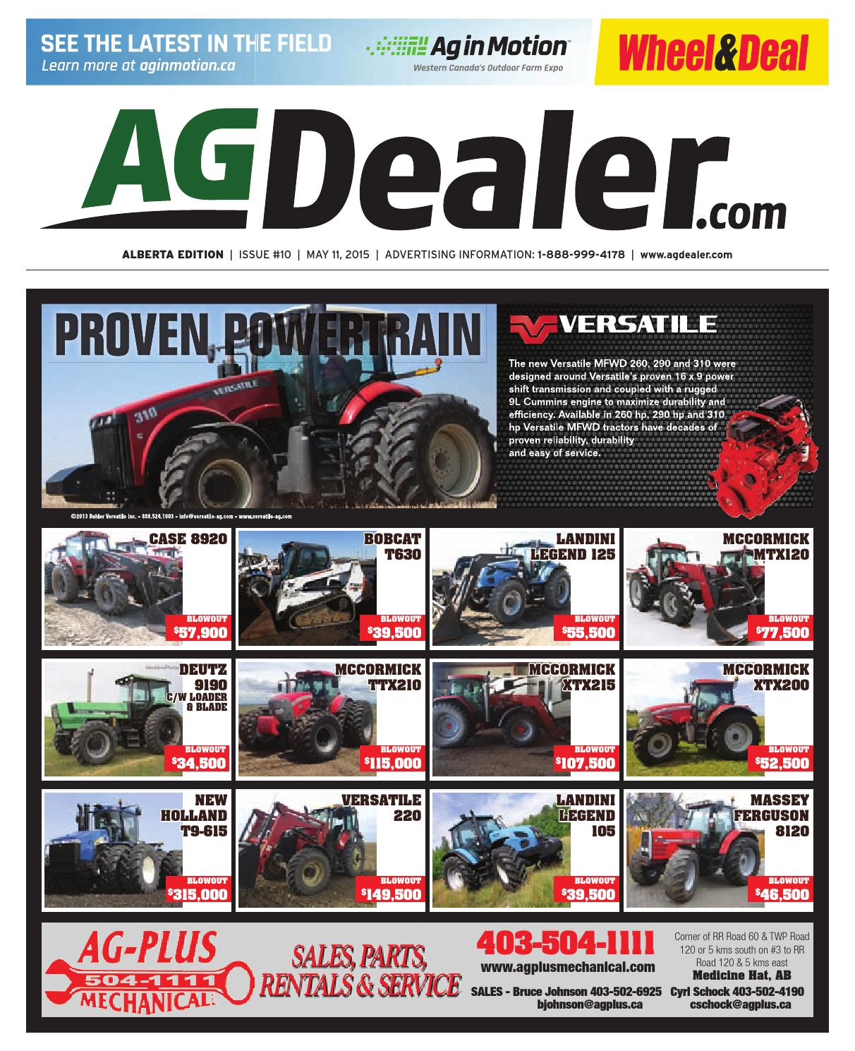 Wheel Amp Deal Alberta May 11 2015 By Farm Business Model John Deere Riding Lawnmowermodelr72i Need The Assembly Diagram Communications Issuu