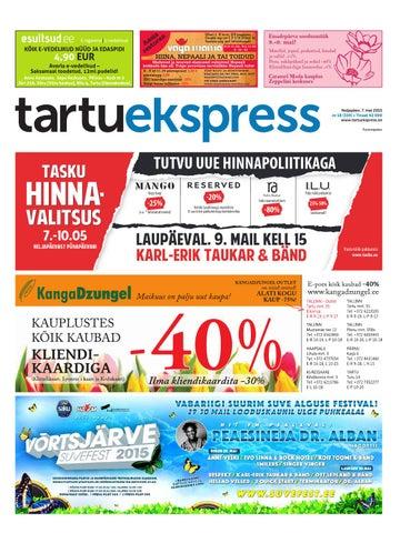 b88a5de2d04 Tartu Ekspress, 7.05.2015 by Tartu Ekspress - issuu