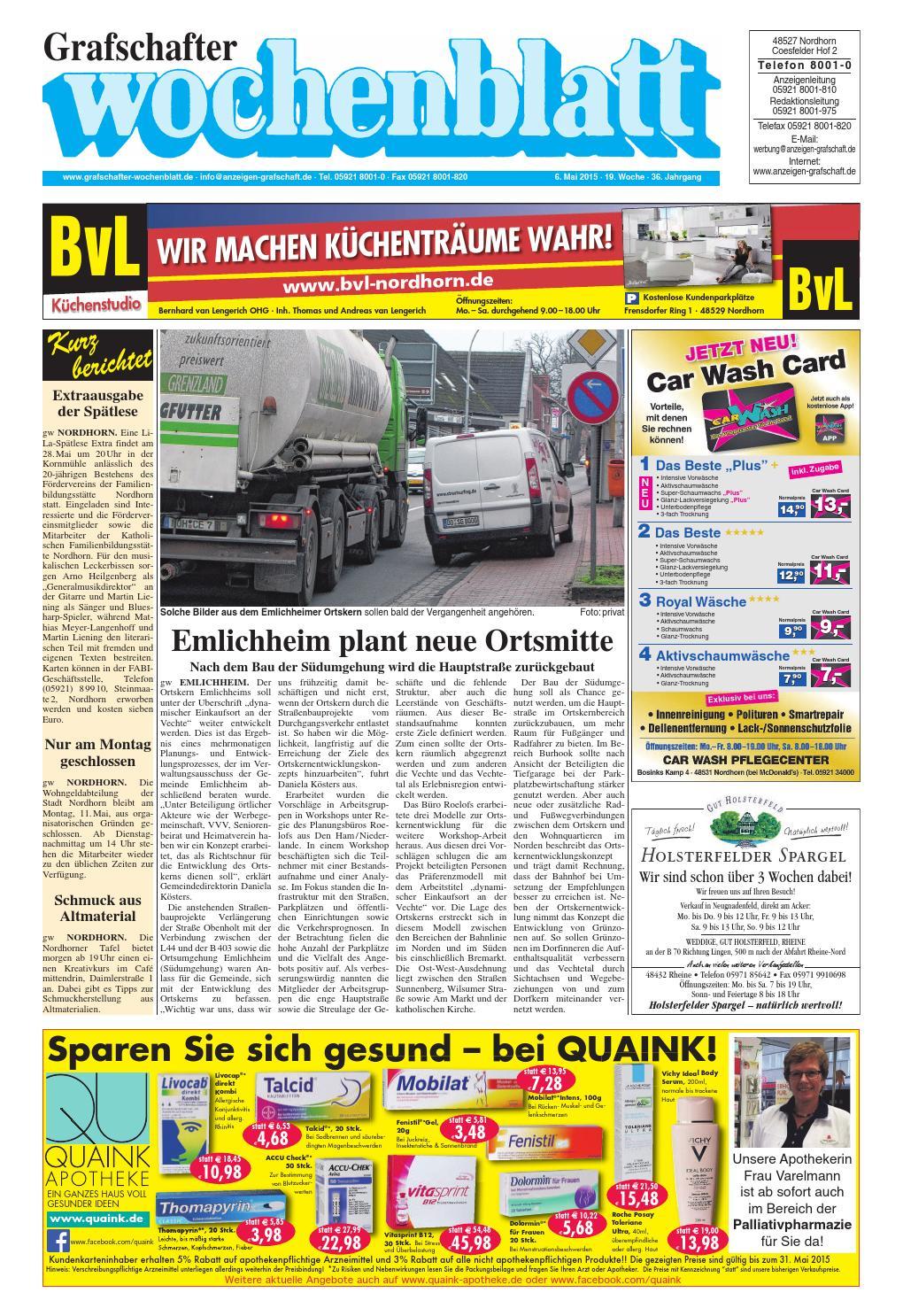 grafschafter wochenblatt 6 by sonntagszeitung issuu. Black Bedroom Furniture Sets. Home Design Ideas