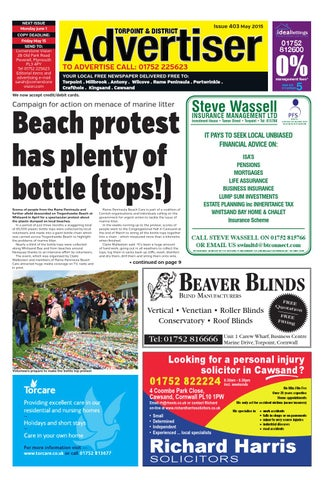 Torpoint Advertiser May 2015