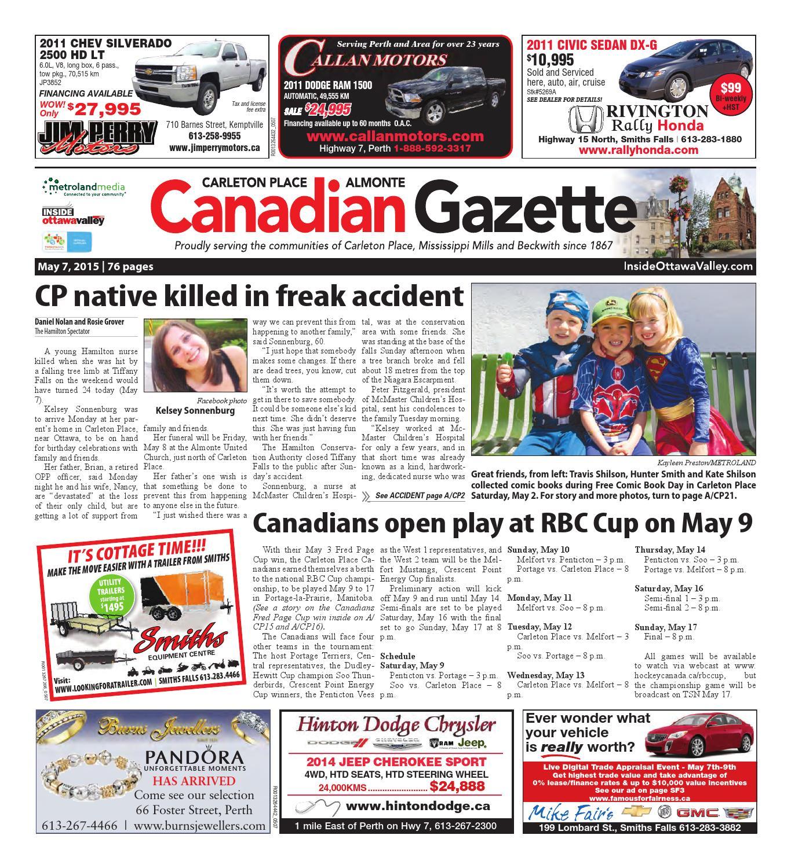 bbadb62557fa3 Almontecarletonplace050715 by Metroland East - Almonte Carleton Place  Canadian Gazette - issuu