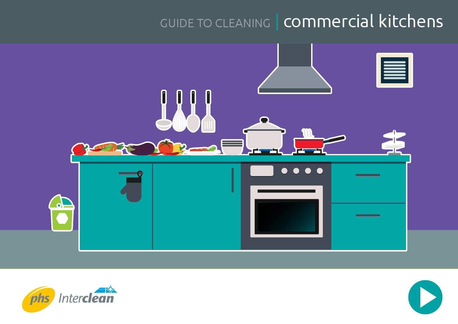 Commercial Kitchen - Free Cleaning Guide by John Morgan - Syncros ...