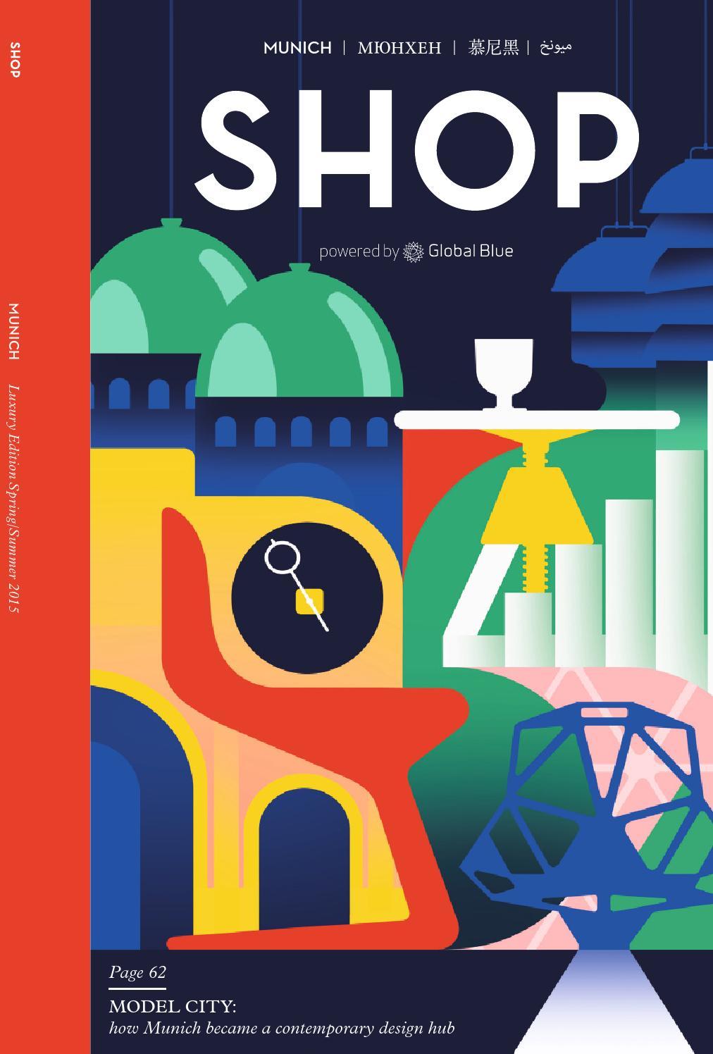 SHOP Munich SS15 by SHOP | Global Blue - issuu