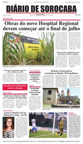 Edição de 7 de maio de 2015 by DIÁRIO DE SOROCABA - issuu 04b3494d10e95