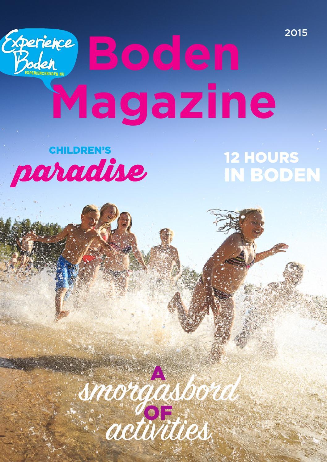 Boden magazine summer 2015 by upplev boden issuu for Boden winter preview 2015