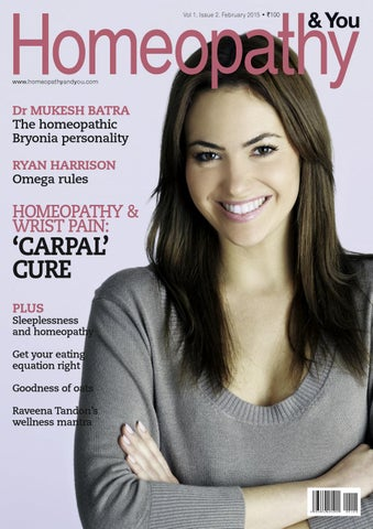 Homeopathy & you February 2015 issue by Dr  Batras Media Pvt  Ltd