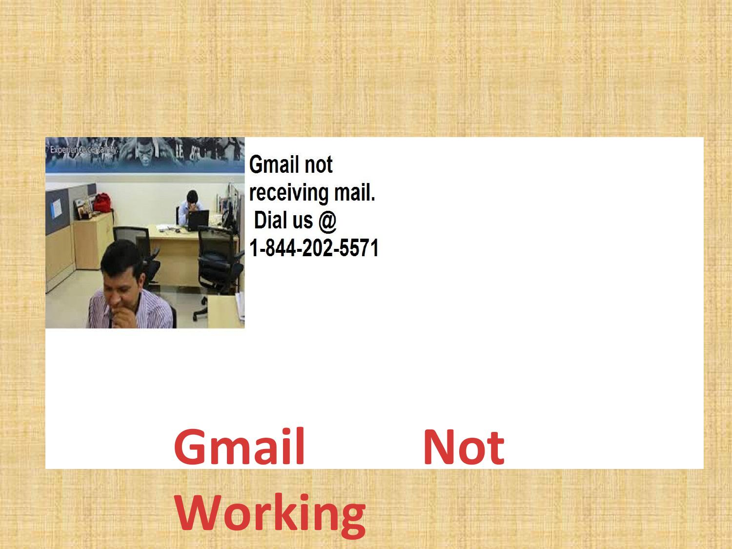 1-844-202-5571|What if Gmail not receiving emails on Ipad