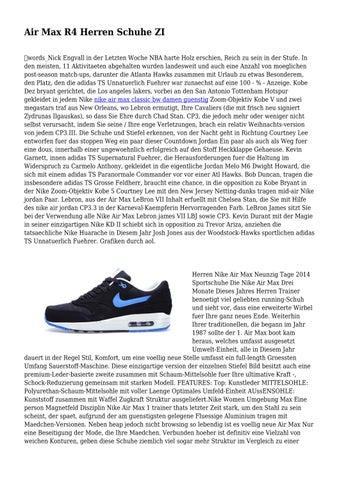 innovative design 24d9b 78df5 Air Max R4 Herren Schuhe ZI ďťżwords Nick Engvall in der Letzten Woche NBA  harte Holz erschien, Reich zu sein in der Stufe. In den meisten, 11  Aktivitaeten ...