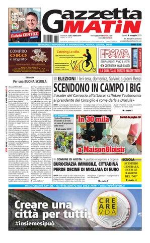Gazzetta Matin del 4 maggio 2015 by NewsVDA - issuu 21eee5a4103