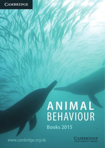 2009 ecology and conservation catalogue by cambridge university animal behaviour cluster 2015 fandeluxe Choice Image