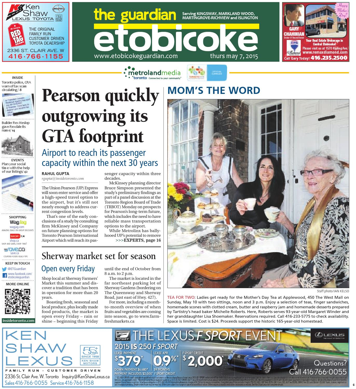 8228c017 May 7 Central by The Etobicoke Guardian - issuu