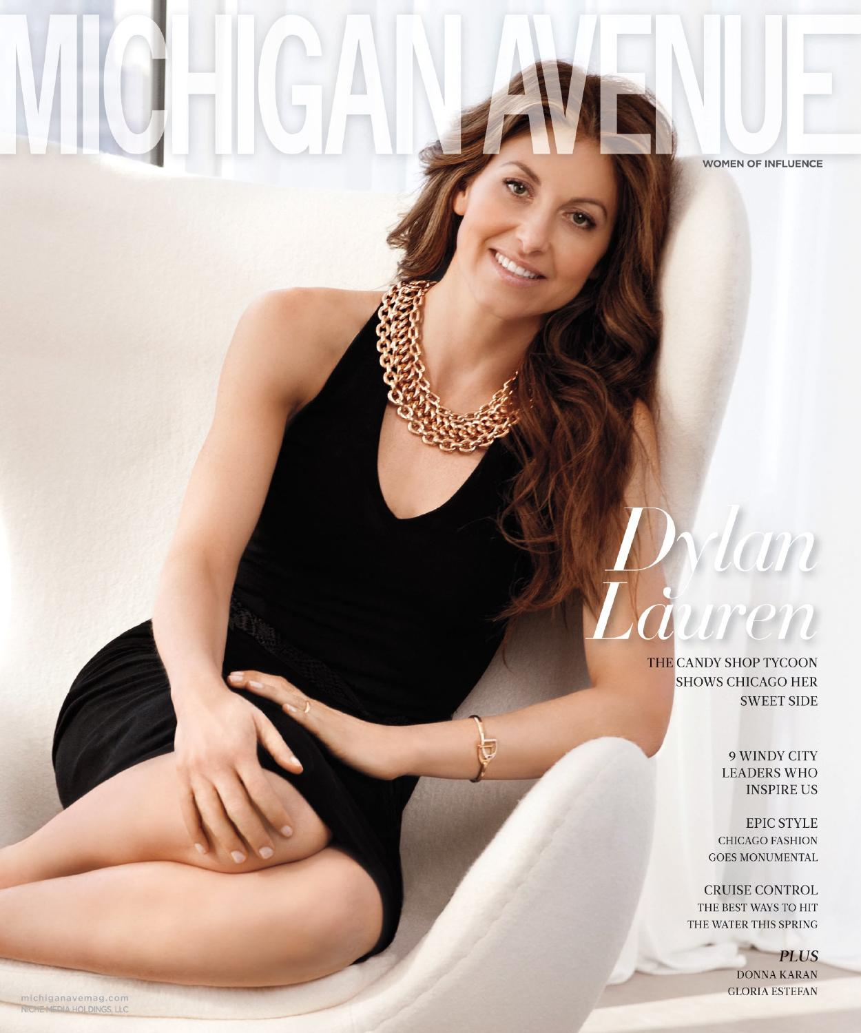 82bdc83085 Michigan Avenue - 2015 - Issue 3 - May-June - Dylan Lauren by Niche ...