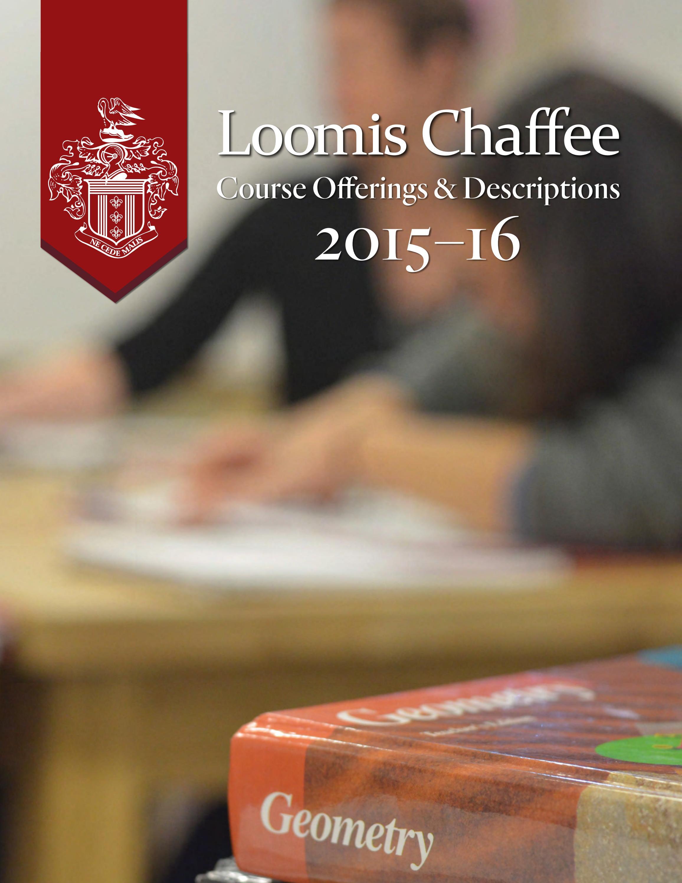 Course Offerings & Descriptions 2015-16