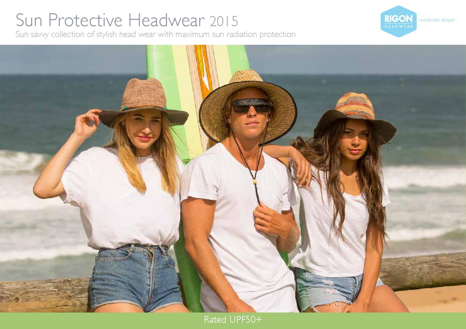 e003456beb5 Sun Protective Headwear 2015 by Rigon Headwear - issuu