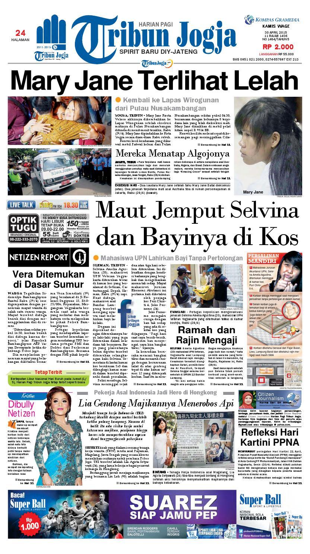 Tribunjogja 30 04 2015 By Tribun Jogja Issuu Produk Ukm Bumn Outer Pendek Ijo Coklat Berkerah