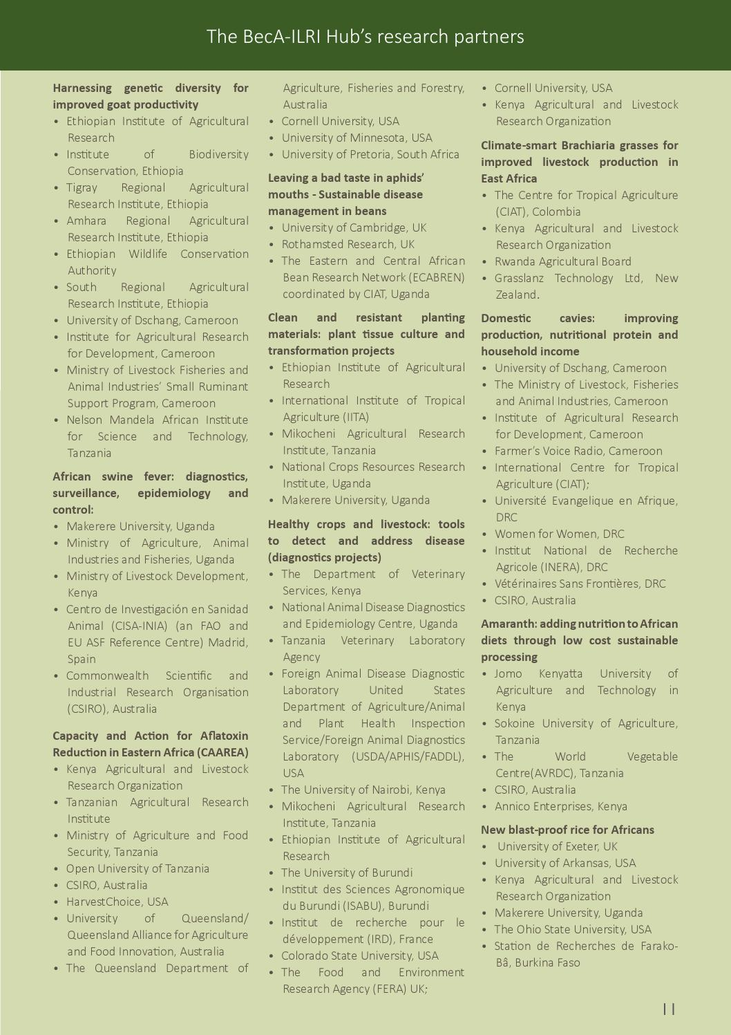 The BecA-ILRI Hub 2014 Annual Report by BecAHub - issuu