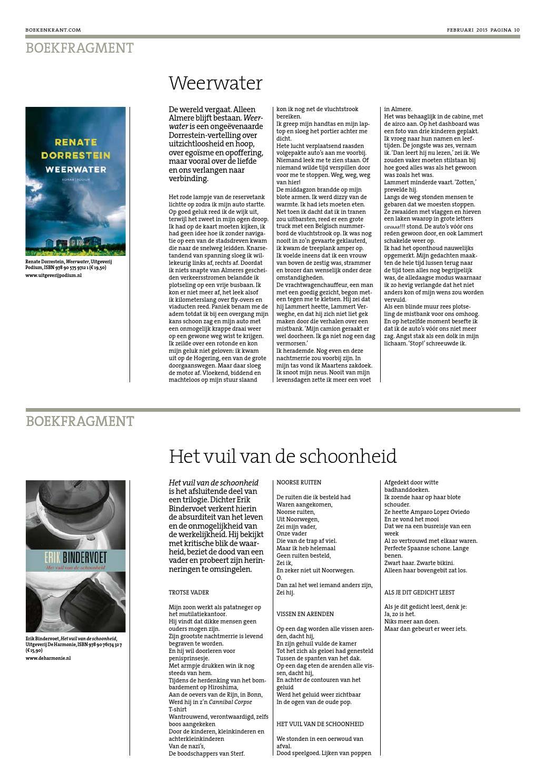 Boekenkrant Februari 2015 By Redactie Boekenkrant Issuu