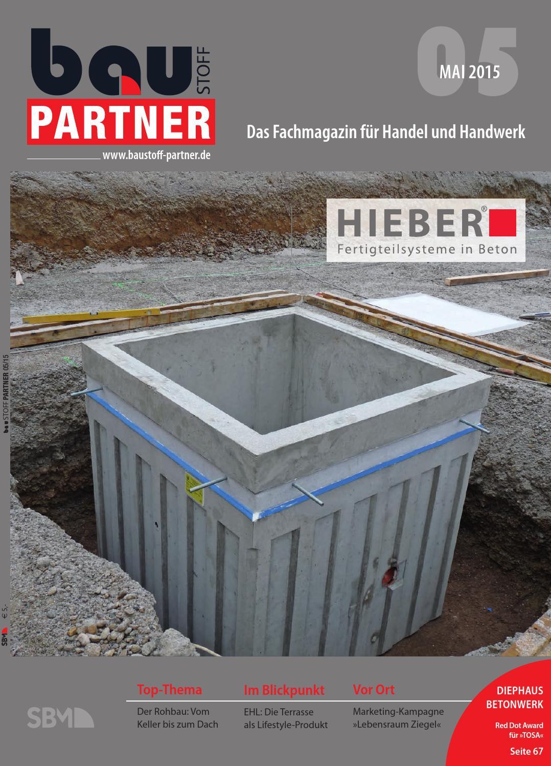 Baustoff Partner Mai 2015 by SBM Verlag GmbH - issuu