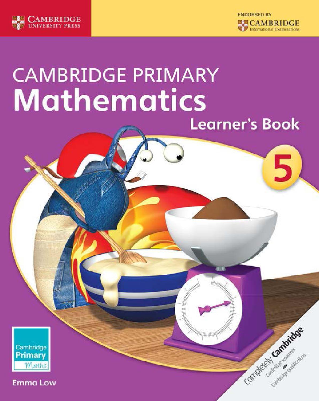 Cambridge Primary Mathematics: Learner\'s Book Stage 5 by Cambridge ...