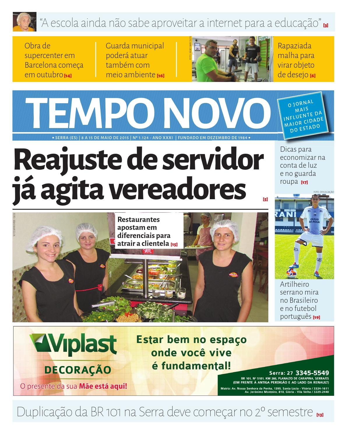 31215bc83 Edição impressa desta sexta-feira (08) by Jornal Tempo Novo - issuu