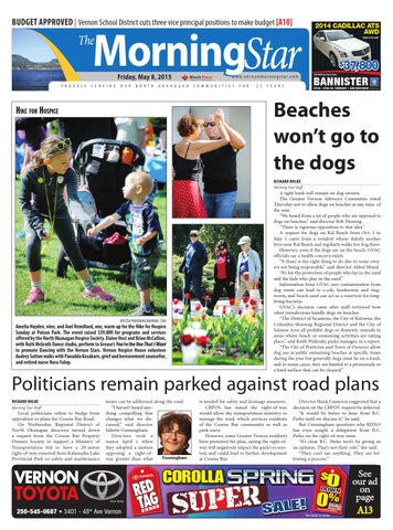 410f1f31b42 Vernon Morning Star, May 08, 2015 by Black Press Media Group - issuu
