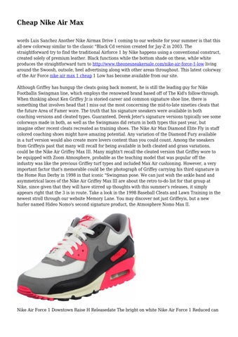 arriving on sale new images of Cheap Nike Air Max by aliketycoon2692 - issuu