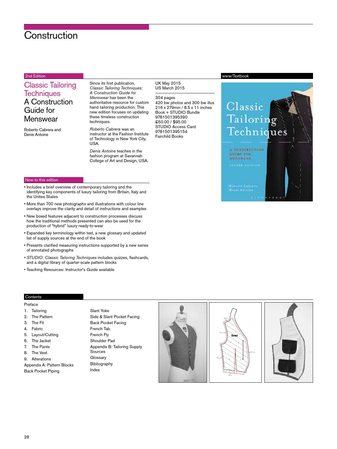 Fashion Textiles 2015 Uk By Bloomsbury Publishing Issuu Piping Layout Techniques