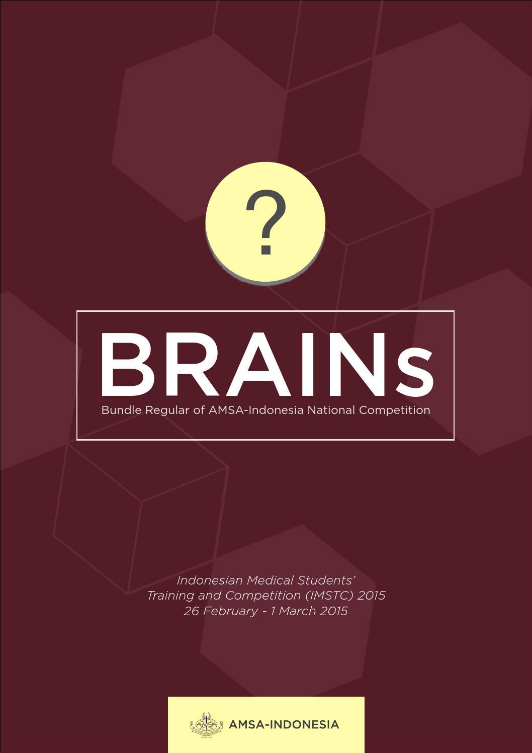 Brains Imstc 2015 By Amsa Indonesia Issuu Filter Rokok Permanen Japan Standard Stick Mg