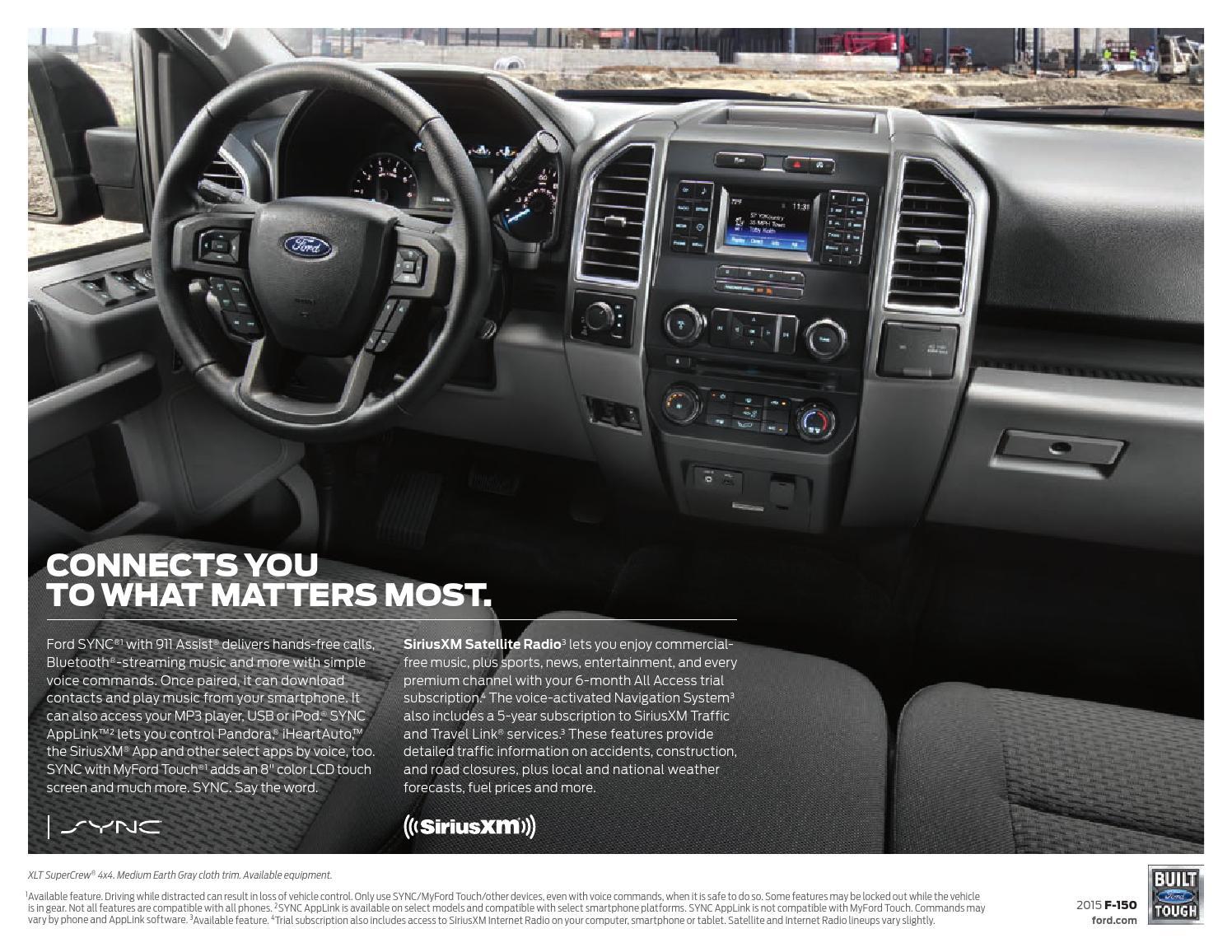 2015 Ford F-150 Factory Brochure - Bob Smith Ford by Bob